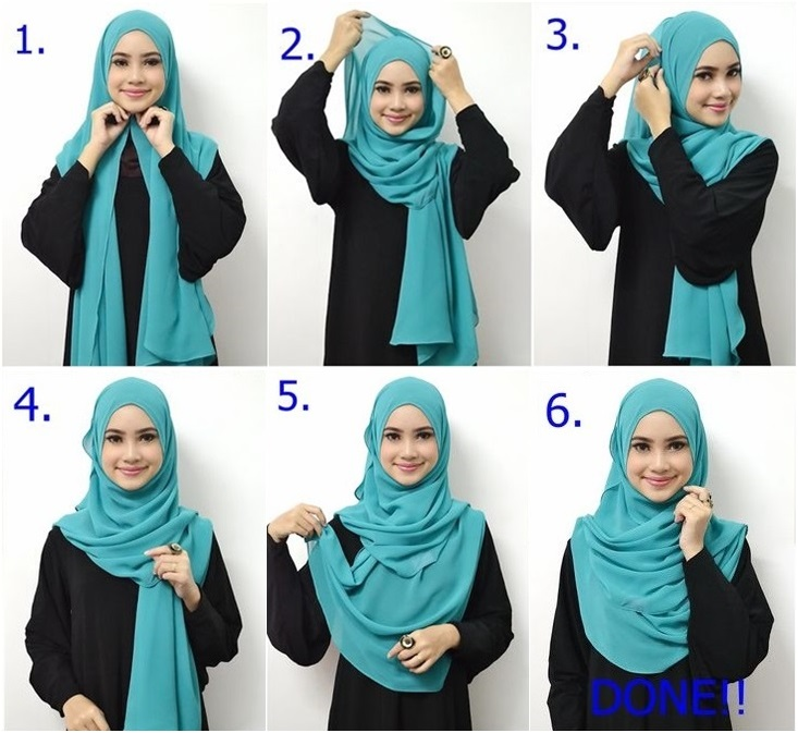 Beautiful Daily Hijab Pictorial For Beginners Hijab Fashion Inspiration