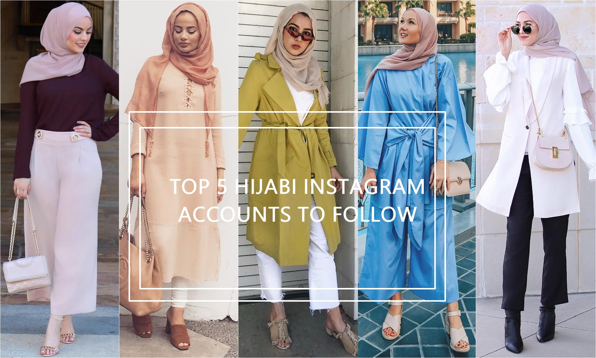 5 Hijabi Instagram Accounts To Follow Hijab Fashion
