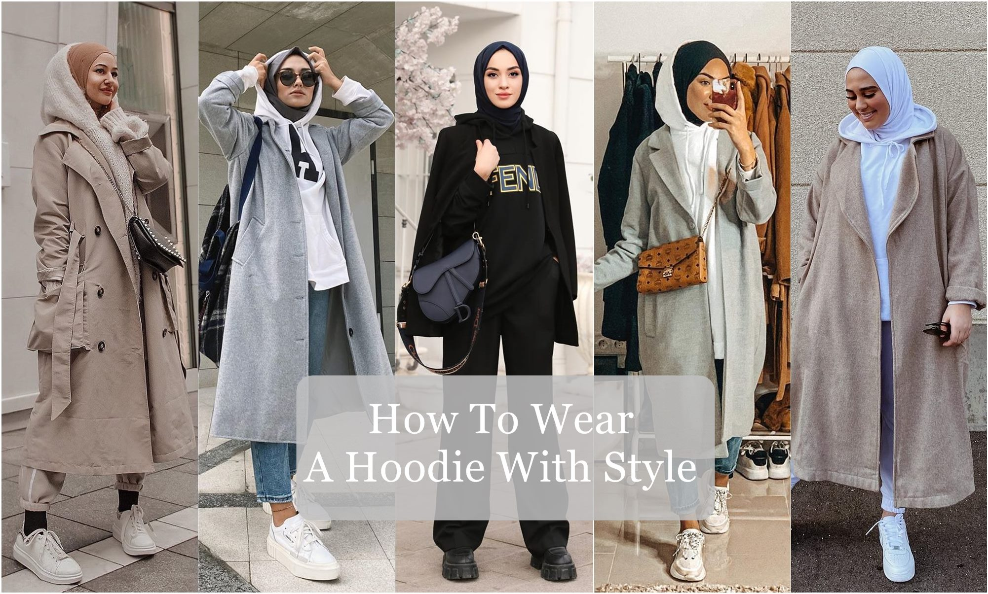 How To Wear A Hoodie With Style - Hijab Fashion Inspiration