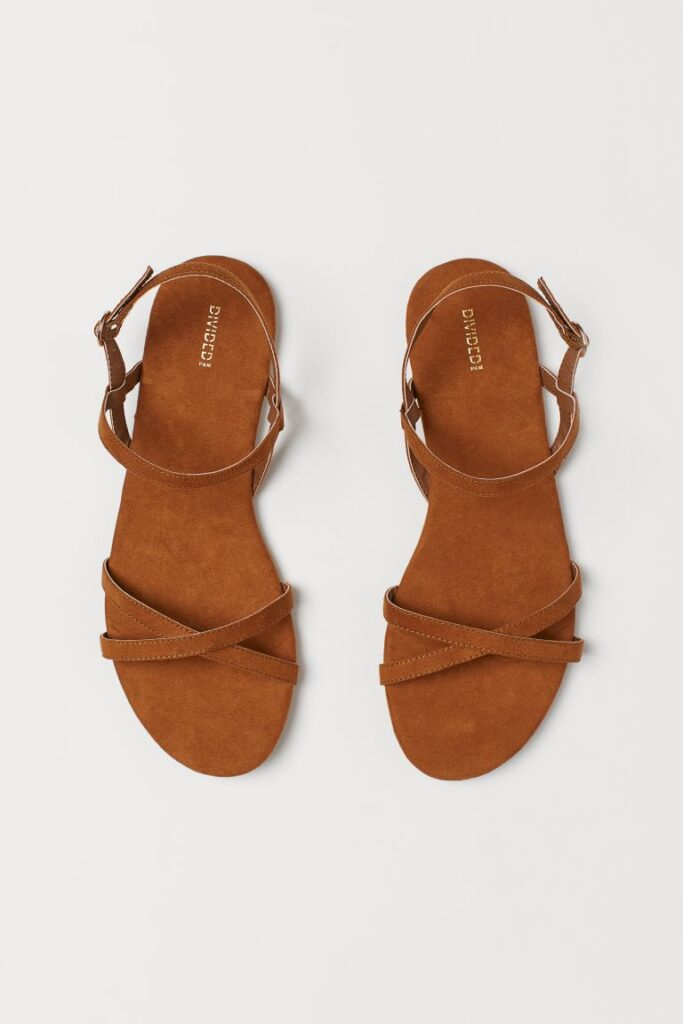 hm flat sandals