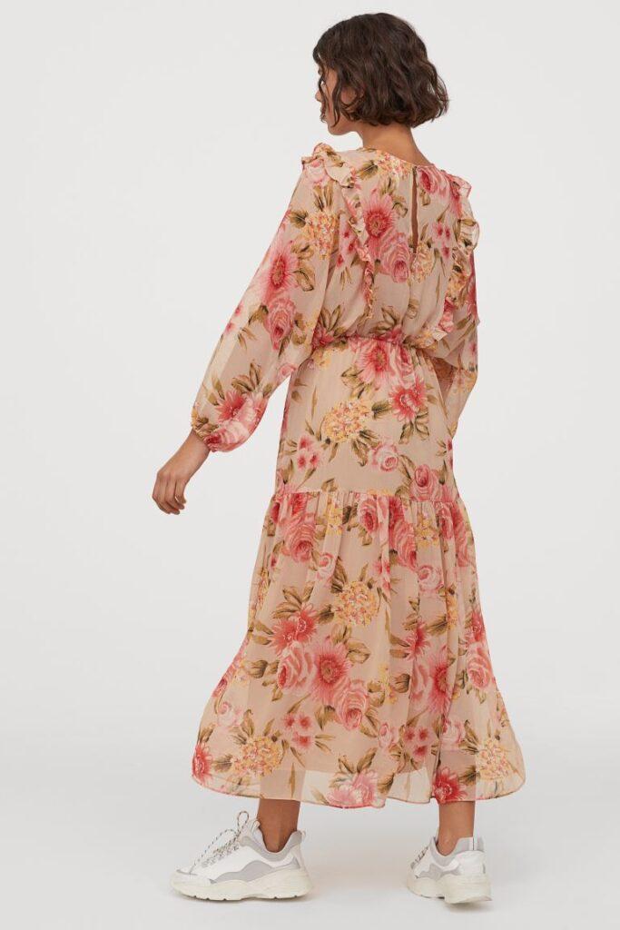 floral dress hm