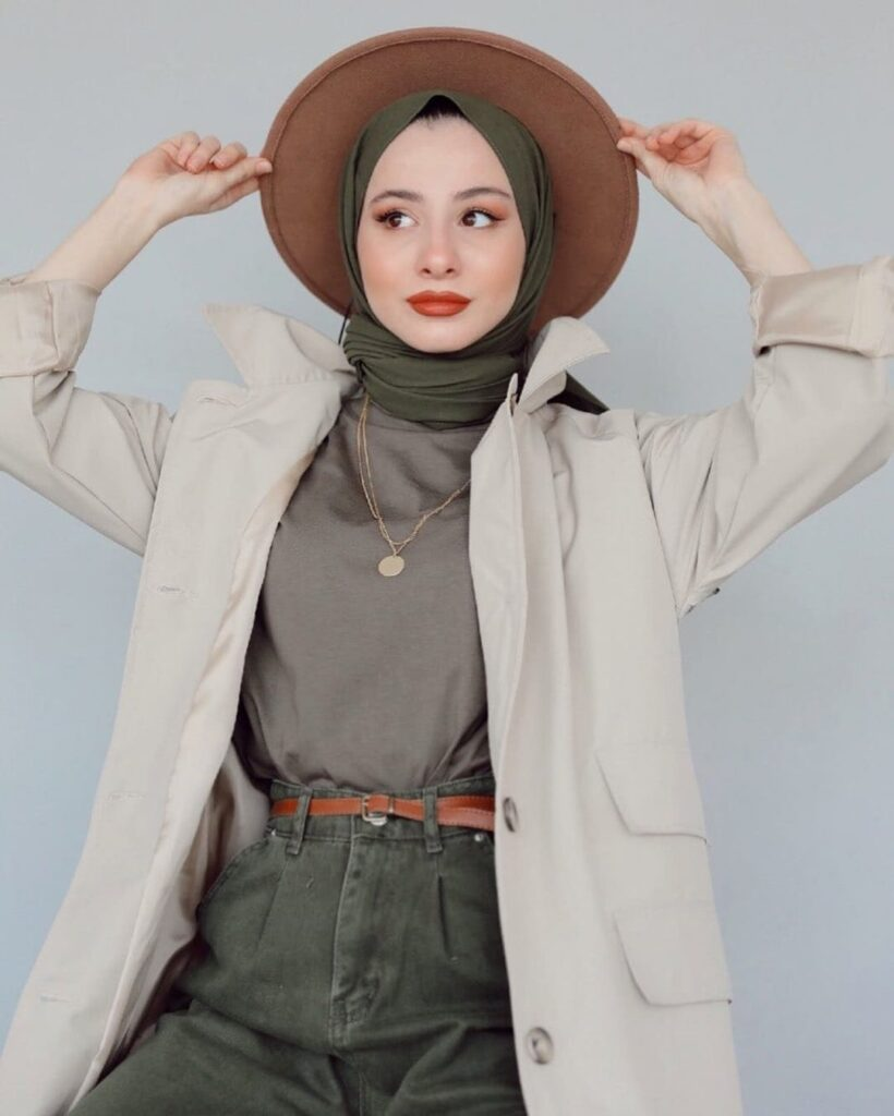 hijab and hats