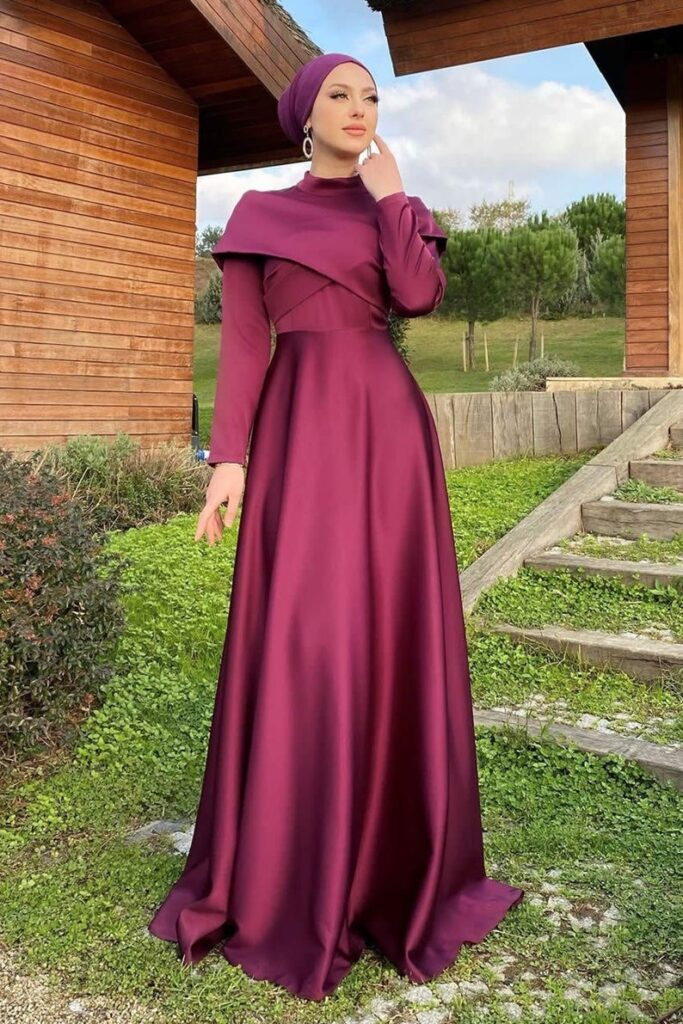 modest gowns