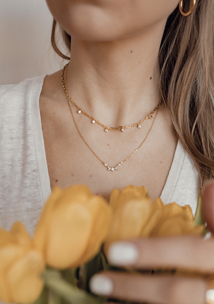 Spring necklaces